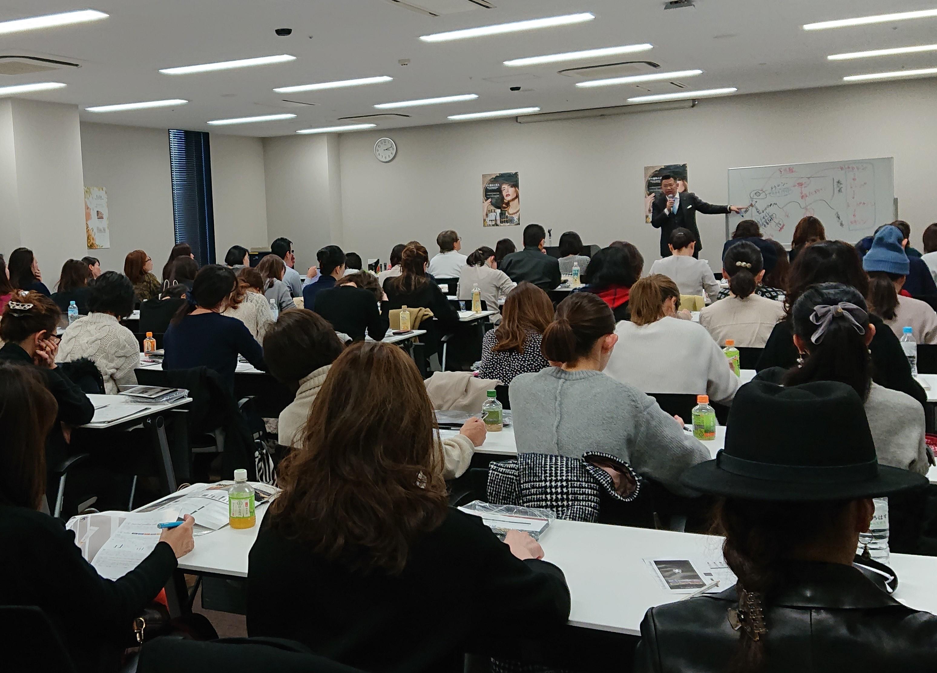 【満員御礼】リアボーテグランスキン講習会 in 名古屋